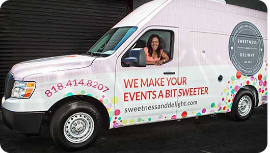 Sweetness and Delight Candy Van
