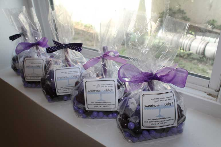 candy potluck gift bags